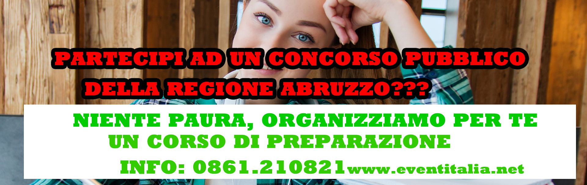 CORSO DI PREPARAZIONE AI CONCORSI PUBBLICI DELLA REGIONE ABRUZZO