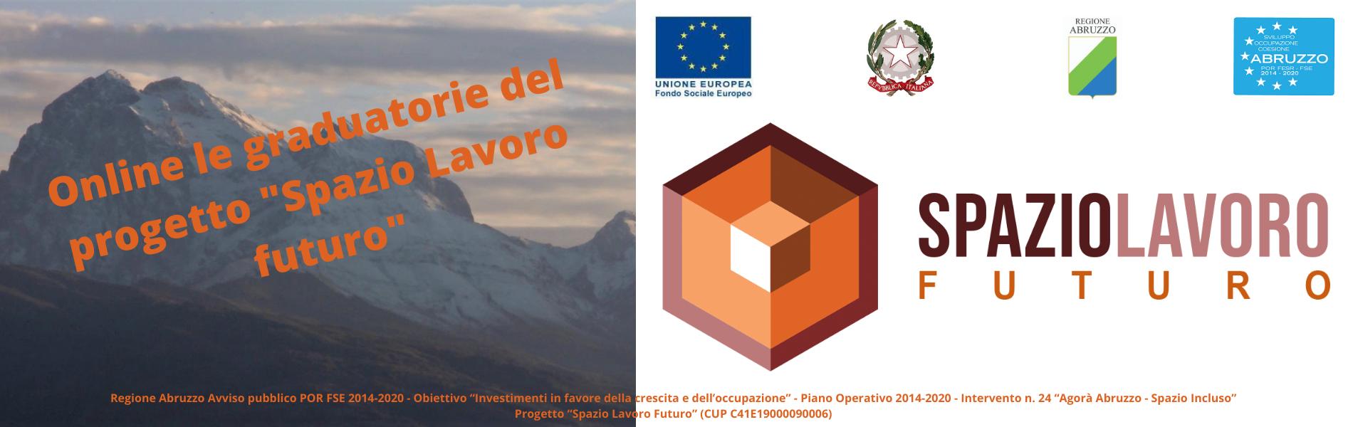 SPAZIO LAVORO FUTURO: Online le graduatorie del progetto